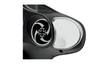 Drag Specialties Fairing Mount Mirrors for '96-13 FLHT & H-D Trike Models -With Blind Spot Mirror -Pair