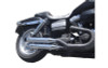 FireBrand Designs Loose Cannon 3 inch Slip Ons for certain '95-17 Dyna Models  - Chrome  (Click for fitment)