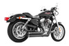 Freedom Performance Exhaust Independence Shorty for '14 & Up XL -Black FOR FORWARD CONTROLS ONLY