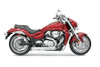 Bassani Pro Street Turn Outs for M109R 06 Up Chrome
