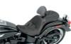 Saddlemen Explorer G-Tech Seat for '06-Up FLSTC -Memory Foam w/ Driver Backrest