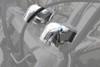 Rivco Products Inc. Handlebar Risers for '04-09 VTX1300C -Chrome