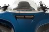 Klock Werks Round Fairing Vent Screen for '14-Up Harley Davidson FLHT and FLHX Models (Choose Chrome or Black)
