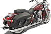 Bassani True Dual Headpipes for '95-08 Harley Davidson Touring Models