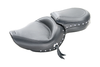 Mustang  One-Piece Wide Touring Seat for Sportster '04-up w/ 4.5 Gallon Tank -Studded