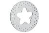 """Drag Specialties Polished Stainless Steel Brake Rotors for '86-99 FLT, FLHT, FLHR, FLHX, FLTR -11.5"""" Rear OEM#40939-86A Hub dia.-/-"""
