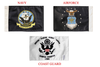 PPI Pro Pad Flags -6 x 9 Inch -Airforce, Navy or Coast Guard