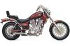 Cobra Slip-On Slash-Cut Mufflers-Two sided exit  for Intruder 1400 '87-up