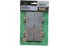 DP Brakes REAR SDP Sport HH+ Sintered Metal Brake Pads for '00-03 XL & '02-04 V-Rod Models OEM# 44082-00A  -Pair