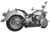 Freedom Performance Exhaust Declaration Turn Out for '86-17 Harley Davidson Softail Black