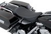 Drag Specialties Low-Profile Solo Seat for '97-07 FLHR (Except for FLHRS/SE) & '06-07 FLHX Models -Smooth