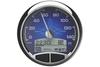Medallion Premium 5 Inch Console Gauge  Kits for '96-03 FLST/FLHR -Classic Blue