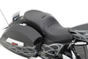 drag specialties low profile touring seat w/ backrest receptacle for cross country/crossroads 10-15 -mild stitch