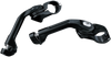 Kuryakyn Adjustable Tour-Tech Cruise Peg Mounts Long Arm for Shorter Riders w/ 1.25 Inch Engine Guards -Black