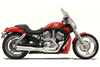 Bassani Road Rage II B1 Power Systems for VRSCA/B '02-05 -Chrome w/ Black Billet End Cap
