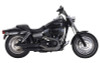 FireBrand Designs Loose Cannon 3 inch Slip Ons for certain '95-17 Dyna Models  - Black (Click for fitment)