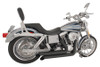 Freedom Performance Exhaust Declaration Turn Out for Dyna '06-17 - Black
