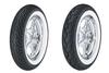 Dunlop Harley Davidson D402 Tires REAR-MT90B16WWW  74H Whitewall  -Each