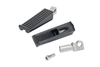 Biltwell Inc. Sanderson Footpegs -H-D Male Mount -Black Electroplate
