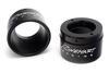 Rinehart Racing Replacement End Cap for Rinehart True Duals & FL Slip On Mufflers 4 Inch Black -Pair