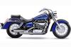Cobra Deluxe Slash-Cut Exhaust for Aero 750 '04-07