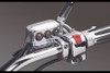 Show Chrome L.E.D. Master Cylinder Chrome Switch Block Assembly for GL1500/1600 & GL1800 '01-10 Right Side