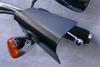 Great Bike Gear Hand Shields for Softails, Dynas, '86-03 XL '86-07 FL Models -Black Powder Coat