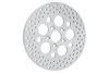 """Drag Specialties Polished Stainless Steel Brake Rotors for '84-85 FLT, FLHT -11.875"""" Rear OEM#40939079A Hub dia.-2"""" c/s -Zinc Finish, Cast Iron construction"""