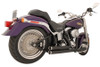 Freedom Performance Exhaust Independence Shorty for '86-17 Softail -Black