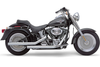 Cobra Dragsters Exhaust for Harley Davidson Softail '07-11 - Chrome