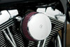 Arlen Ness Big Sucker Stage 1 Performance Air Filter Kit with Cover for Harley Davidson Touring '08-16, Softail & FXDLS '16-17 - Chrome, Standard Filter