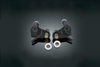 Burly Brand Rear Lowering Kit for XL '00-03 Black