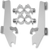 Memphis Shades Batwing Windshield Mounting Kit for '11-Up Stryker-Polished FAIRING AND WINDSHIELD NOT INCLUDED