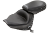 Mustang  Two-Piece Wide Touring Seat  for V-Star 1300 '07-Up-Studded