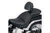 Saddlemen Explorer Special Seat for '06-17 Dyna Glide -With Driver Backrest