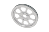 """Drag Specialties Rear Belt Pulley for '00-05 FXST, '00-06 FLST (1&#8539"""" X 70T) Replaces OEM # 40289-00 -Each"""