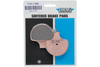 Drag Specialties FRONT/REAR Sintered Metal Brake Pads for '06-12  V-Rod  OEM #42897-06A/08 & 42850-06B  -Pair