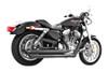 Freedom Performance Exhaust Patriot (LG) Slash for '04-13 XL -BlackFOR FORWARD CONTROLS ONLY