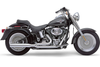 Cobra Power Pro HP  2-into-1 Exhaust for Softails '07-11