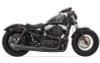 Bassani Road Rage II B1 Power System for '14-up XL Models w/ Mid or Forward Controls -Black