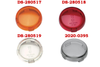 Drag Specialties Replacement Turn Signal Lens -Amber Repl. OEM #68973-00 -Each -Click for fitment