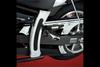 Show Chrome  Frame Cover w/ Rubber Pad for V-Star 950 (pr)
