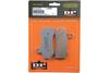 DP Brakes REAR Sintered Metal Brake Pads for All '05-07 Big Twin Models (except '06-07 FXST, '07 FLSTF)OEM# 44082-00/00C -Pair