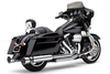 Cobra RacePro Slip-On Mufflers  for H-D Touring Models '95-16