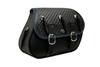 Boss Bags Close Fitting  #37 Model Braided Lid,  w/ Conchos for '14 Indian Models