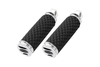Arlen Ness  Soft Touch Foot Pegs for H-D Models -Chrome Scalloped, Dimpled Rubber Does not fit the Sportster 48 & 72 Models