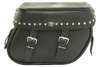 Boss Bags Close Fitting #40 Model Studded on Lid Valence Only for Softail Models