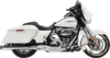 Bassani Road Rage 2-Into-1 System with 4 inch Megaphone Muffler for Harley Davidson Touring Models '17-Up - Chrome
