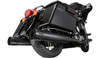 Firebrand 4 inch Loose-Cannon Slip-On Mufflers for '17-Up FL Models -Black