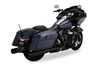 Vance & Hines Complete Stage 1 Power Package for 2017-Up Harley Davidson Touring w/ Black HO Slip Ons